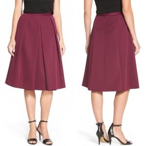 Vince Camuto | Pleated Scuba Skirt